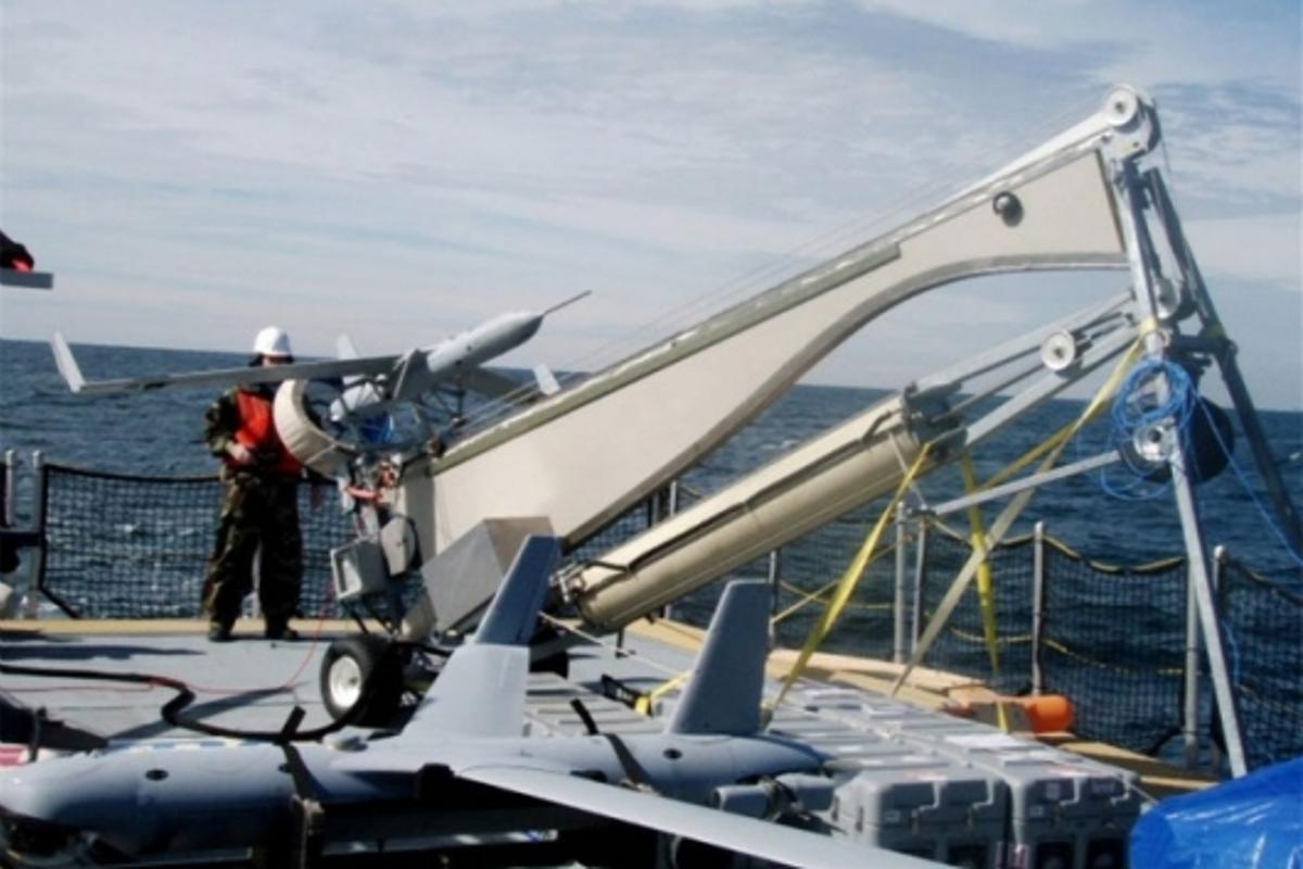 ScanEagle Biological Combat Assessment System (BCAS)Photo: Boeing