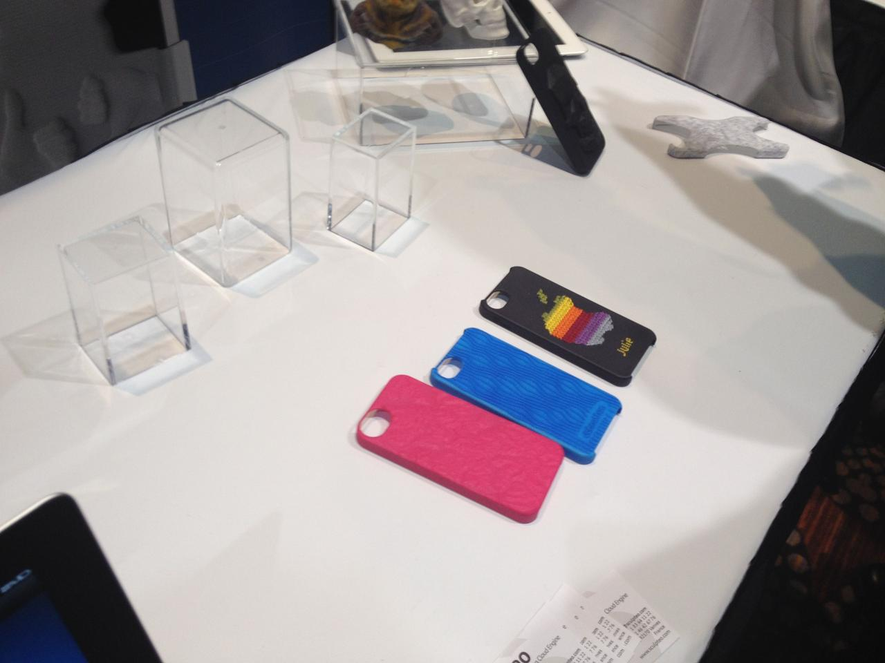 The cases are made of polyamide, built to a tolerance of 0.1mm