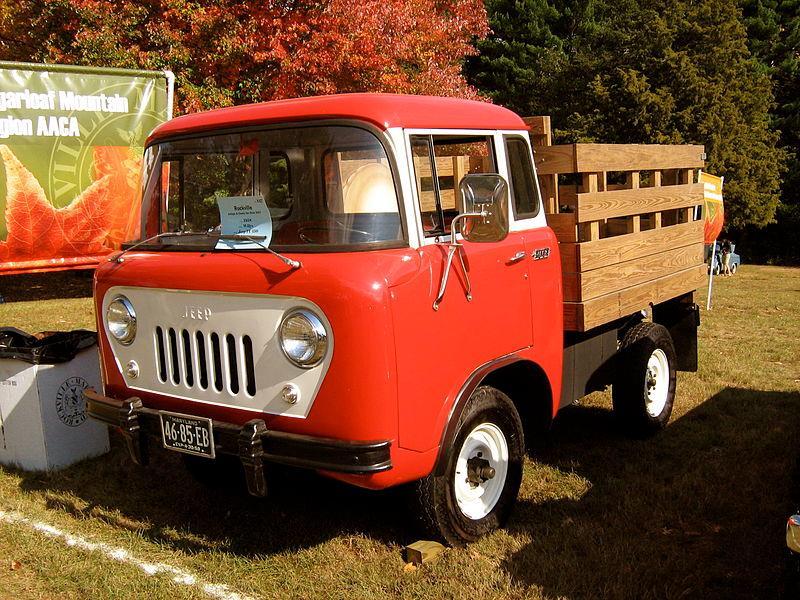 An original 1958 Jeep Forward Control (Photo: Christopher Ziemnowicz)