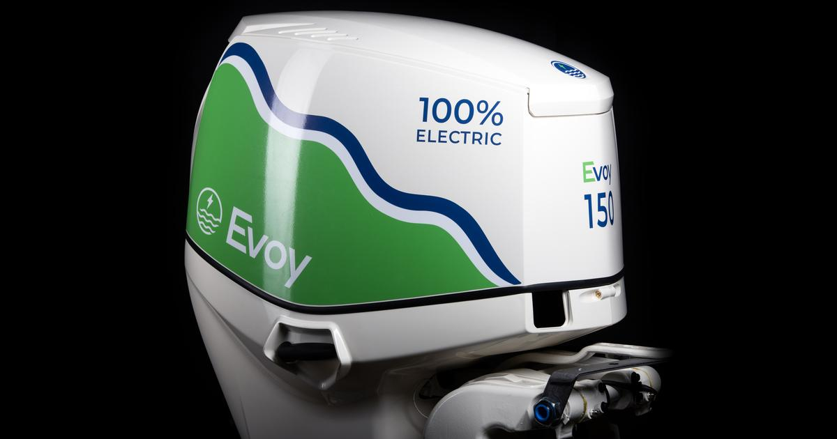 Evoy launches the world's most powerful electric outboard motor