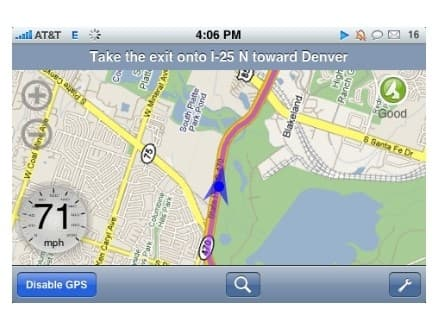 xGPS brings turn-by-turn navigation to the iPhone