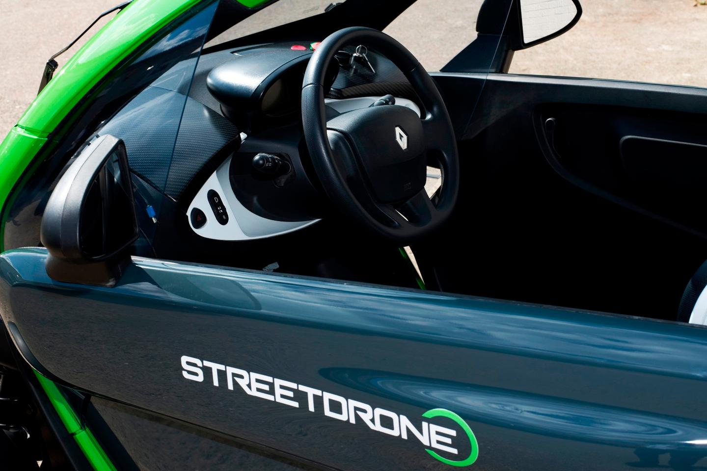 StreetDrone's kitted-out Renault Twizy