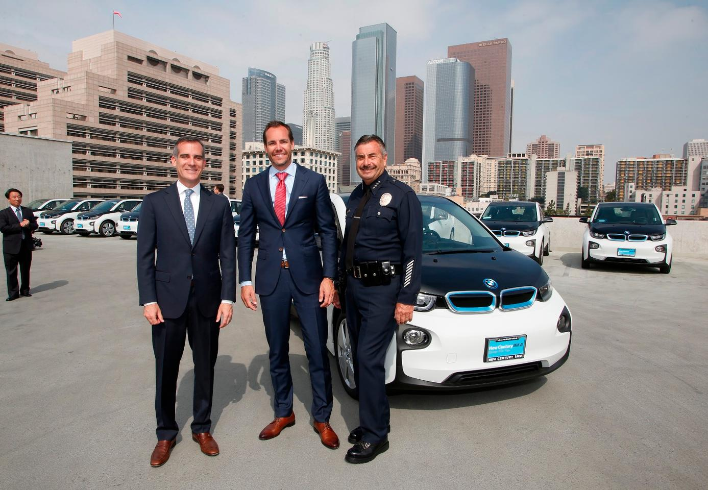 The i3 was chosen after bidding process