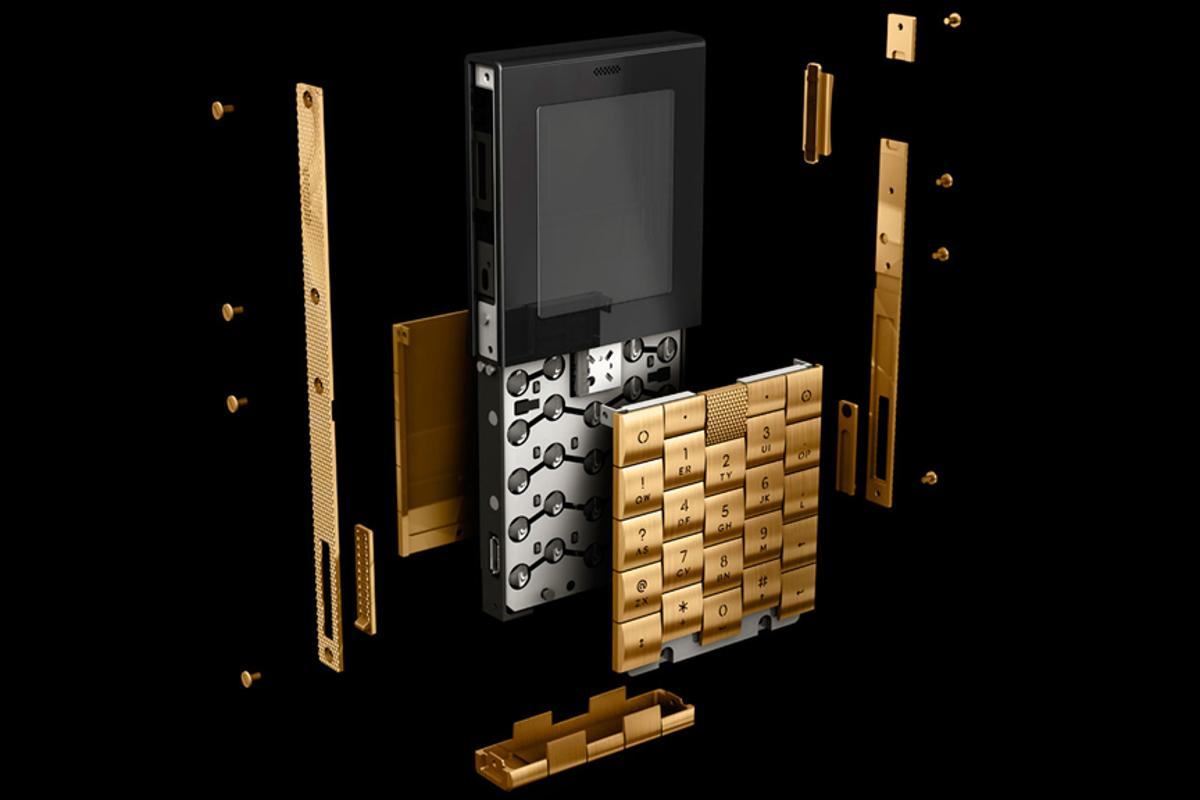 The Yves Behar-designed phone keeps things simple