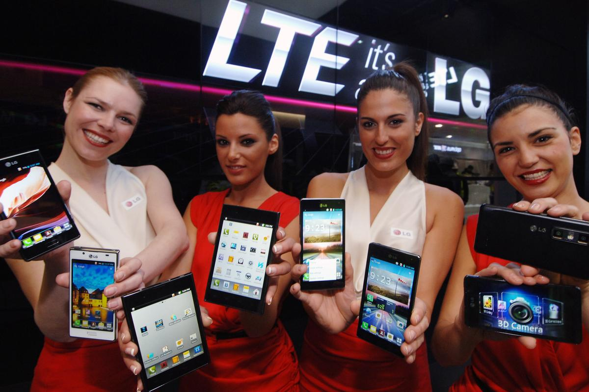 LG's Optimus L7, Optimus Vu:, Optimus 4X HD and LG Optimus 3D Max at MWC 2012