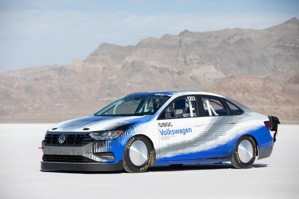 After experiencing a false start of sorts at Bonneville Speed Week last month, Volkswagen has now returned to the famous salt flats and gone home with a world record in tow