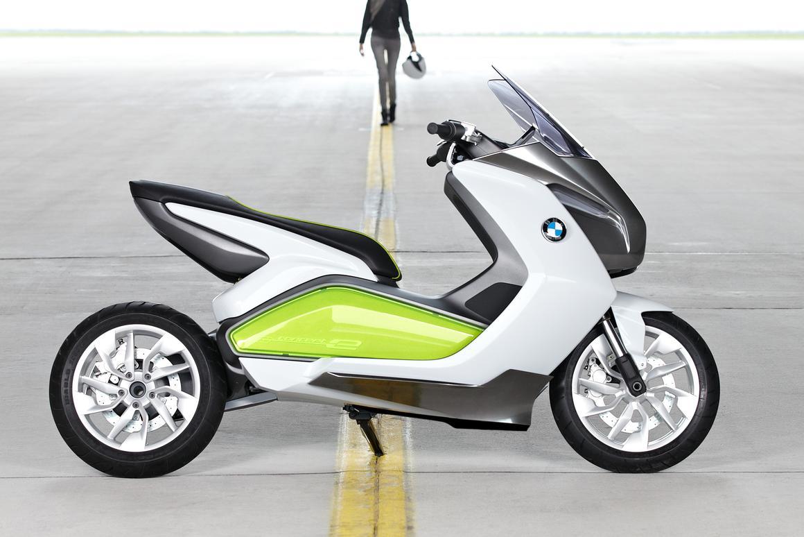 BMW Concept e Electro-scooter