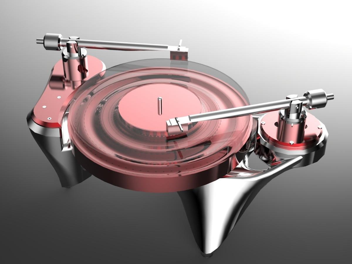 As much a work of art as functional audio equipment: The Metaxas &SinsPhonographic Perambulator No.1