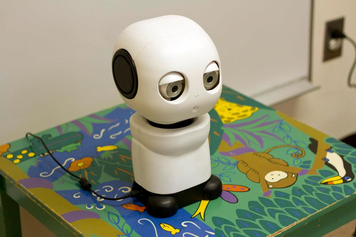 The completed MAKI robot
