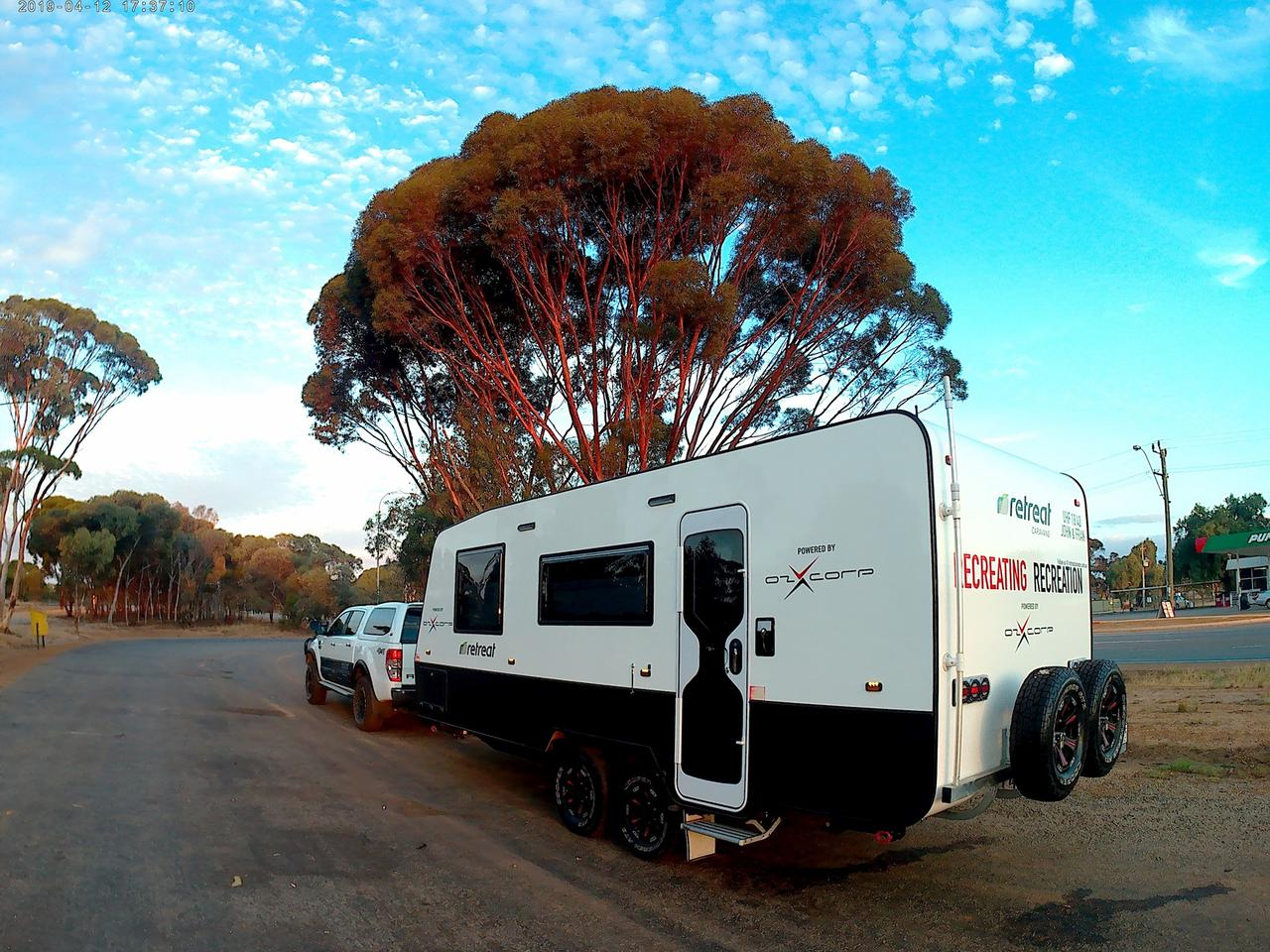 This prototype traveled 12,400 miles around Australia to test out the CEMS electrical system