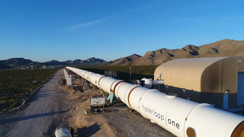 Hyperloop One is just one of the transport companies vying make the futuristic transport system a reality