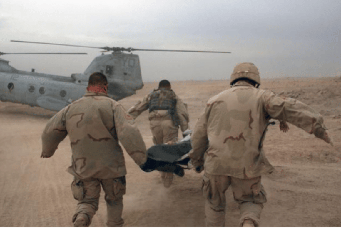 Using nanotechnology, scientists are working on safer methods of morphine delivery to injured soldiers on the battlefield (Photo: SFC Johan Charles Van Boers, U.S. Army)