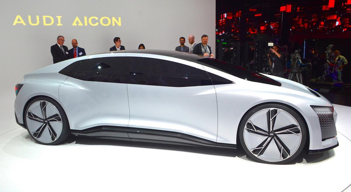 Audi debuts the Aicon concept at the 2017 Frankfurt Motor Show