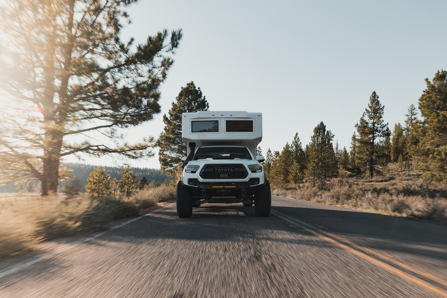 TruckHouse motors forward with its Toyota Tacoma BCT off-road expedition camper