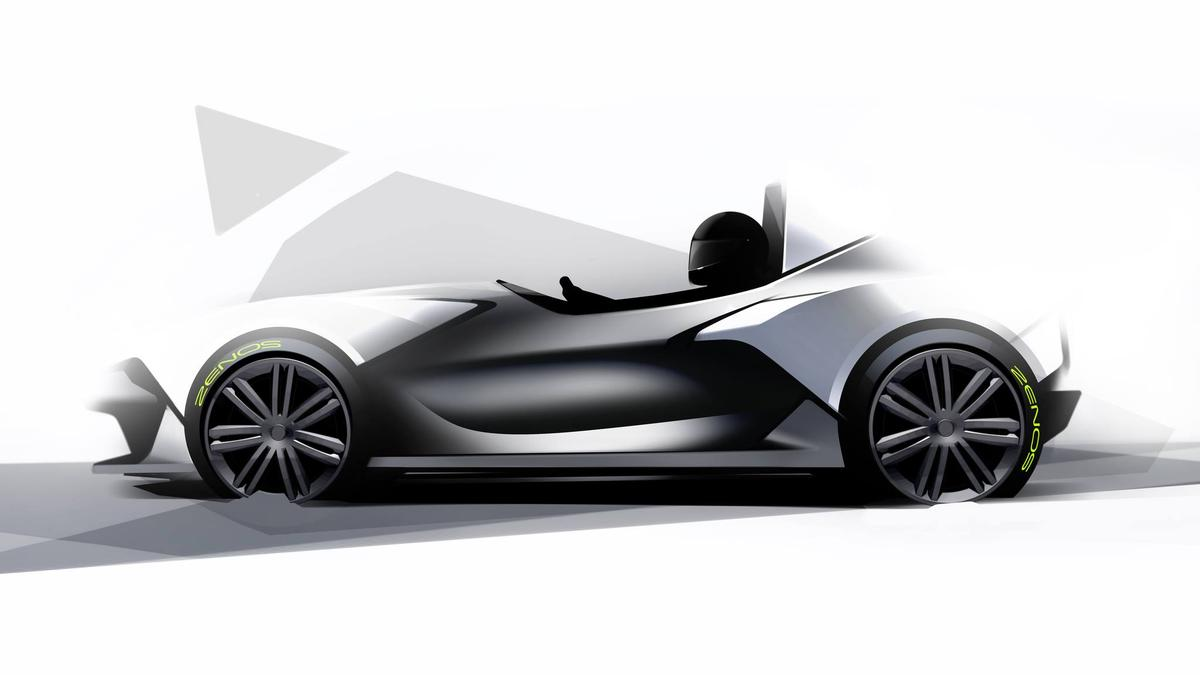The E10 will be a lightweight roadster that is legal on roads but designed more for the track