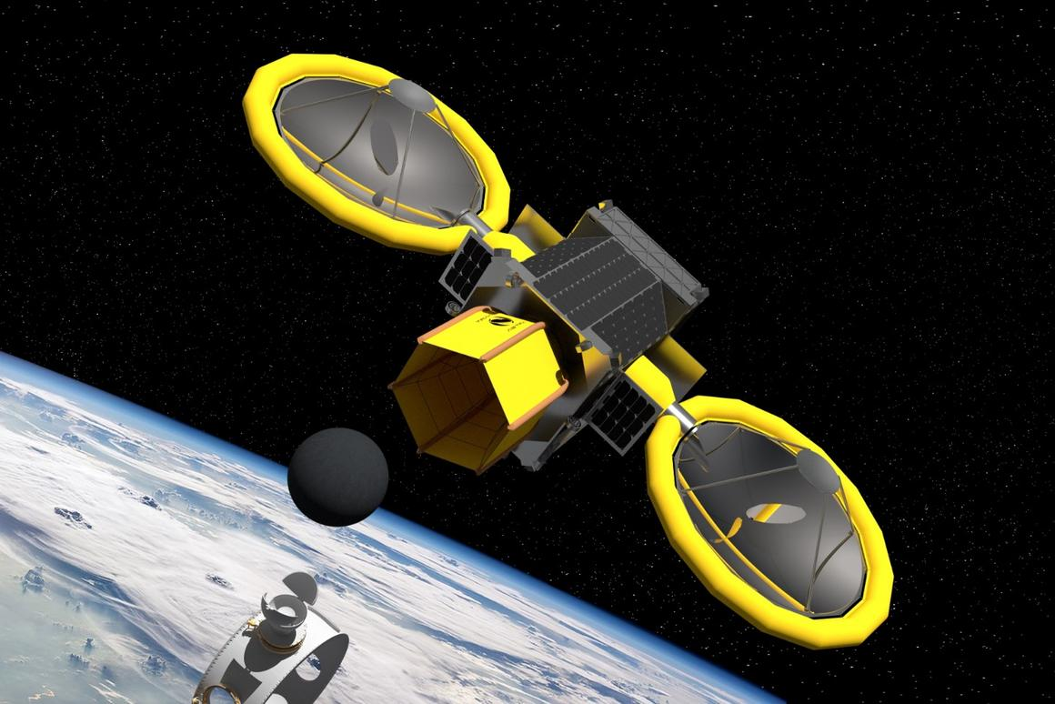 The Mini Bee is one oftwo deep-space mining concepts NASA has backed for further development