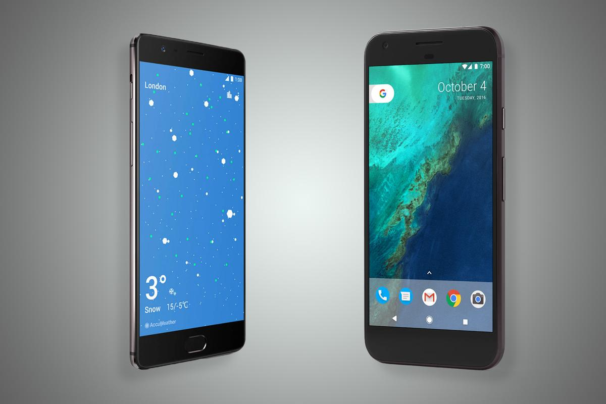 New Atlas compares the new OnePlus 3T to one of its most obvious rivals, the Google Pixel XL