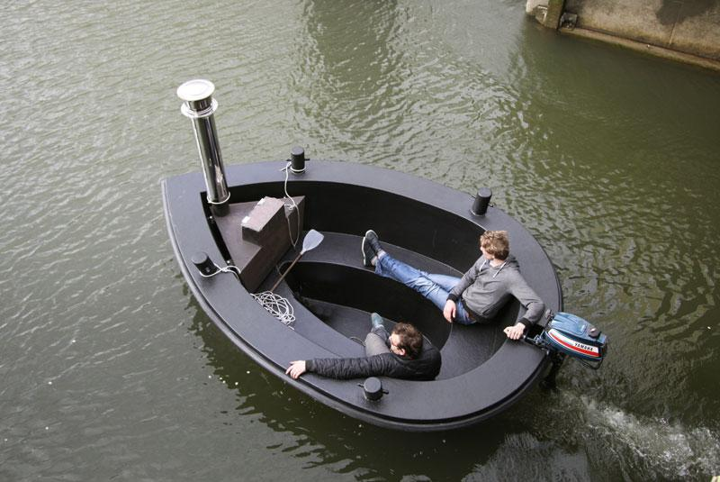 The HotTug can also be used without water