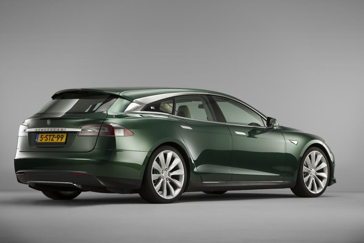 The striking RemetzCar Model S shooting brake was commissioned by shooting brake and electric car enthusiast Floris de Raadt
