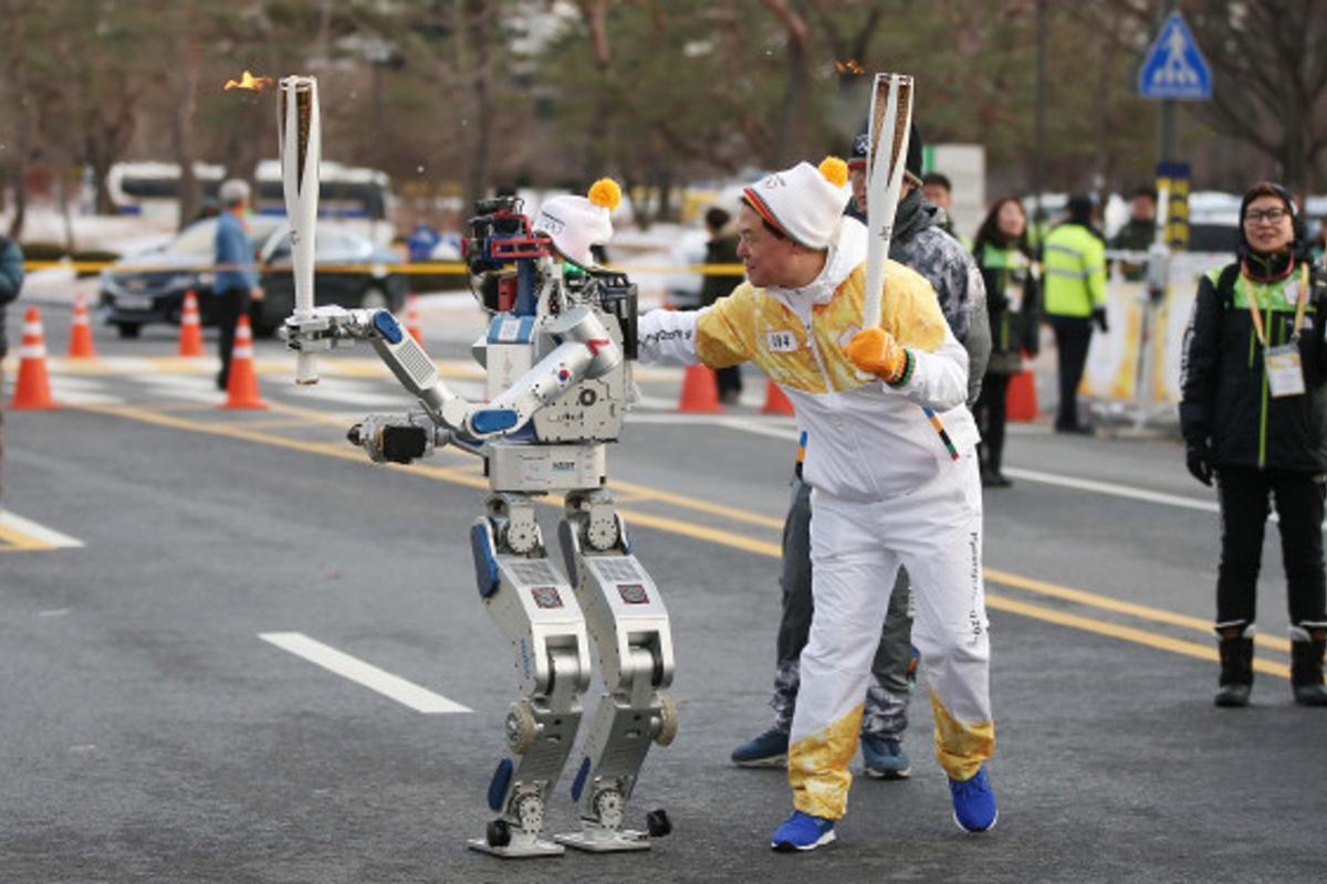 Hubo previously won the 2015 DARPA Robotics Challenge