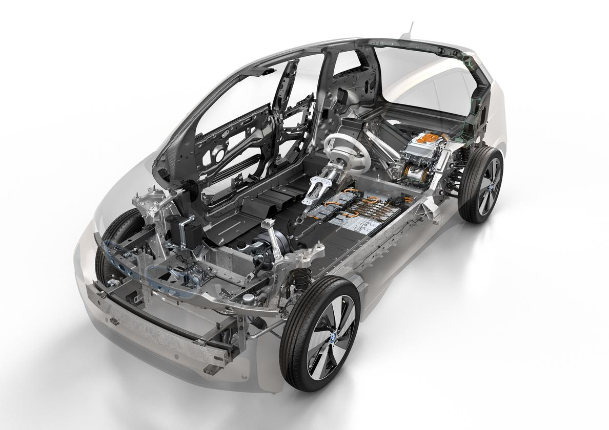 A look under the skin of the 2014 BMW i3