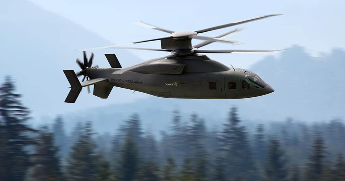 Lockheed Martin and Boeing debut Defiant X advanced assault helicopter