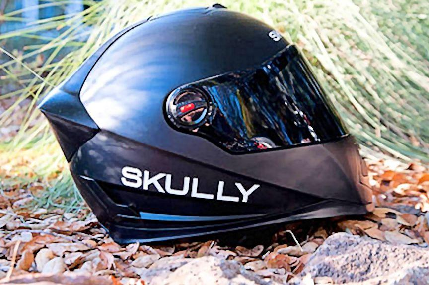 The AR-1 has the classic aerodynamic lines shared by all modern helmets (Photo: Skully Helmets)