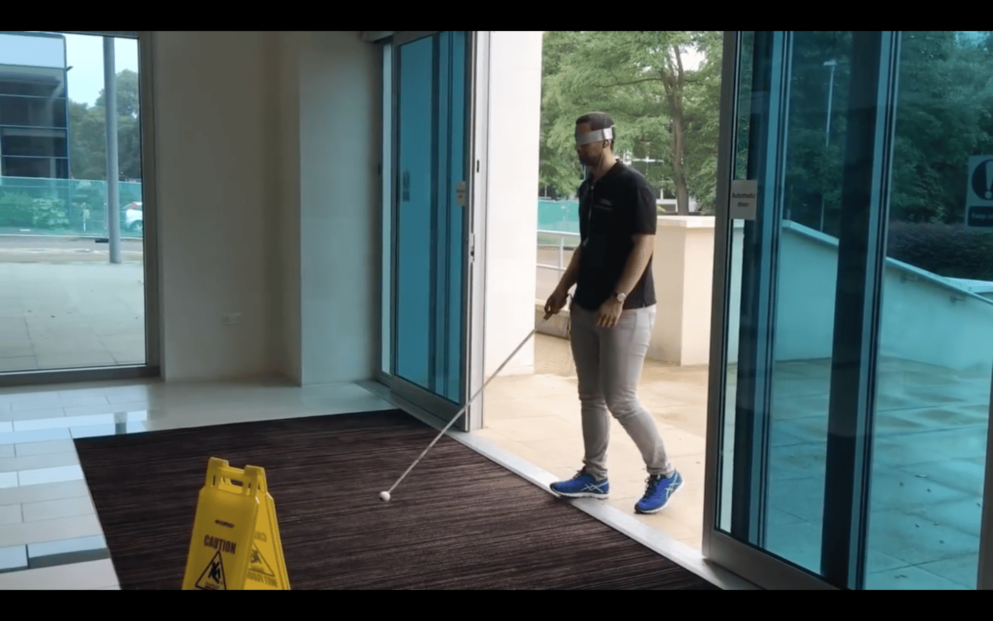 mySmartCane is very much in its early prototype phase