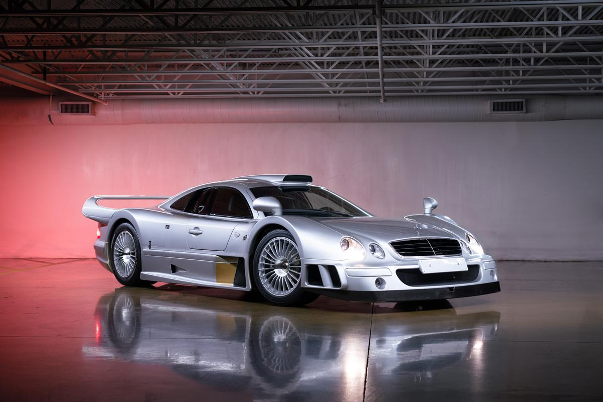 This 1998 Mercedes-Benz AMG CLK GTR Strassenversion will go to auction during Monterey Car Week with Gooding & Co (Lot 50) on Saturday, 14 August 2021 with an official estimate of $8,500,000 - $10,000,000