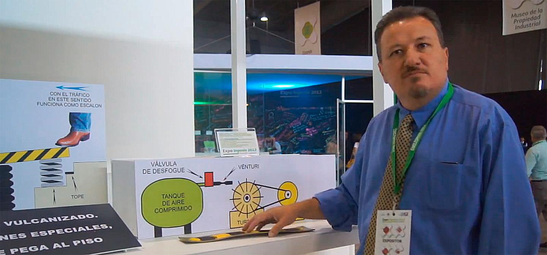 Héctor Ricardo Macías Hernández, inventor of the system
