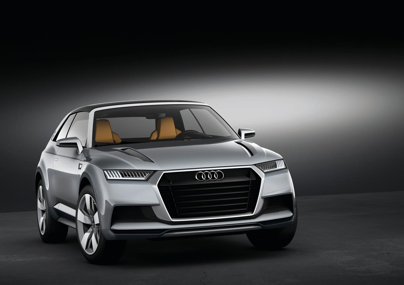 The Audi crosslane coupé concept