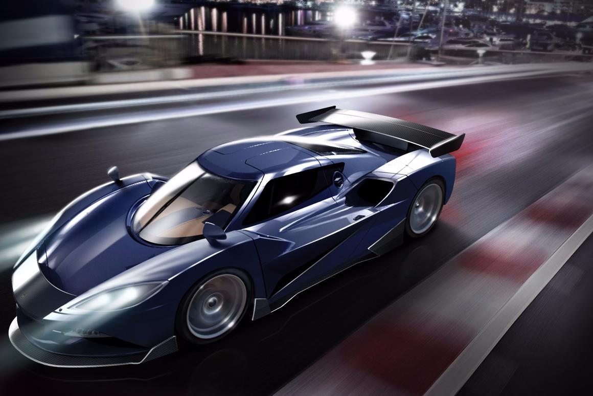 The Arash AF10 hyper-hybrid revealed ahead of its debit in Geneva