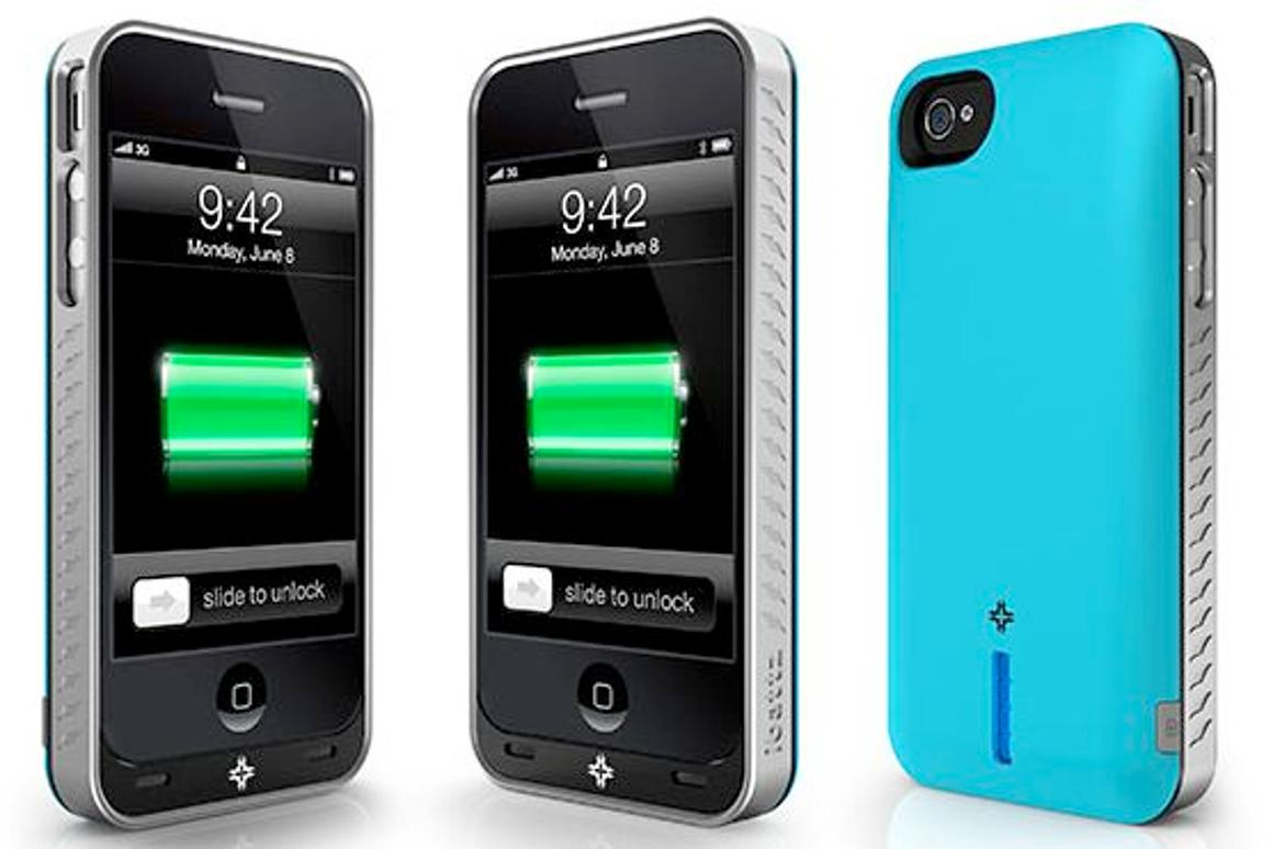 iBattz's Mojo line of powered iPhone cases features interchangeable batteries