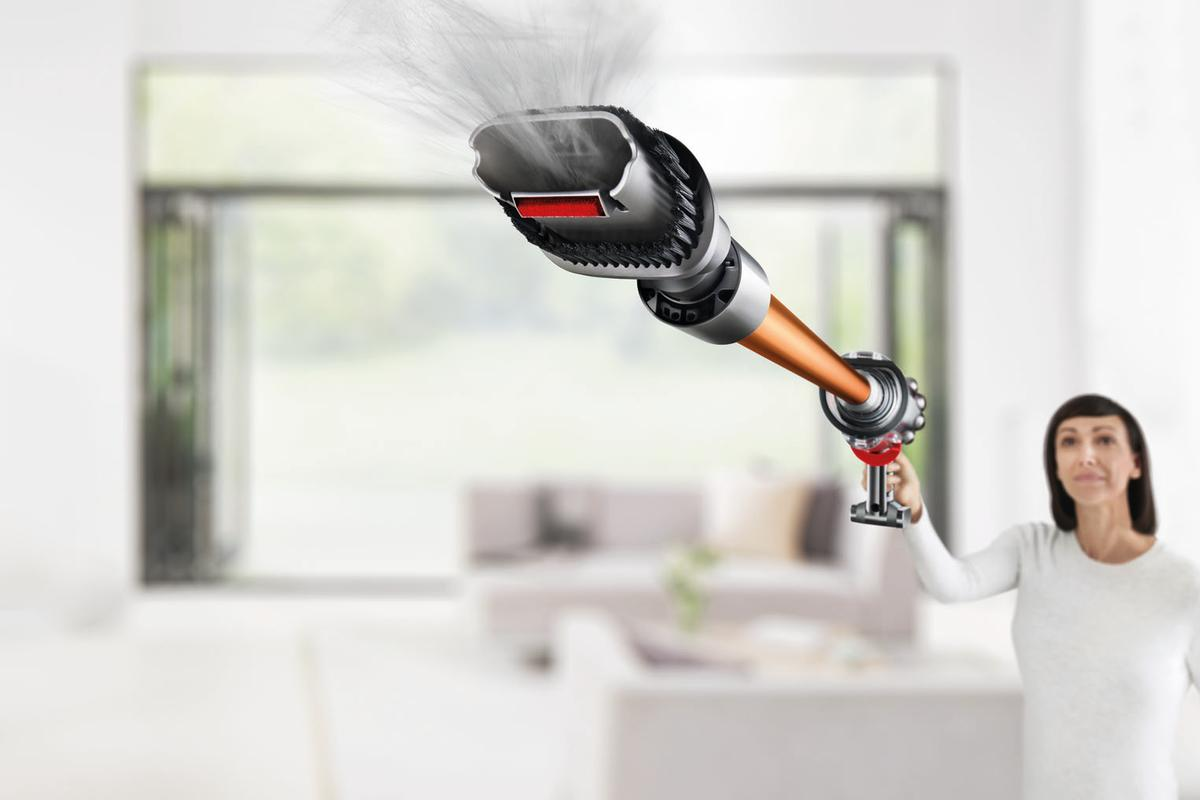 The Cyclone V10 vacuum cleaner marks Dyson's move away from corded technology