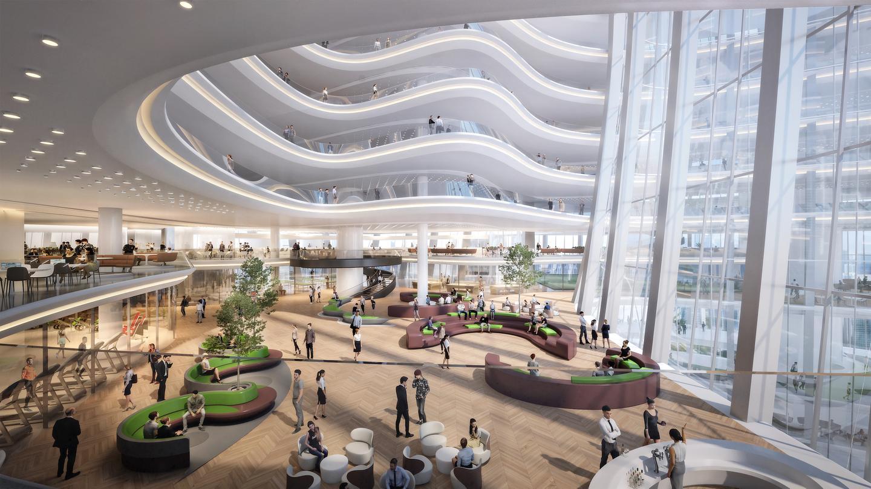 La nueva sede de Oppo apunta a la certificación LEED Gold (un estándar de construcción ecológica)