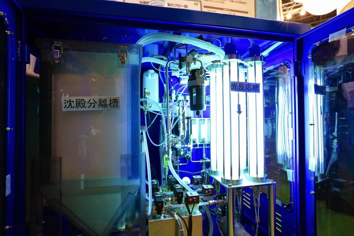 Panasonic is using UV light and photocatalysts to purify water