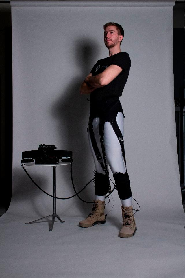Developed at Harvard's Wyss Institute, the soft exosuit is quite different to the number of exoskeletons we've looked at in the past