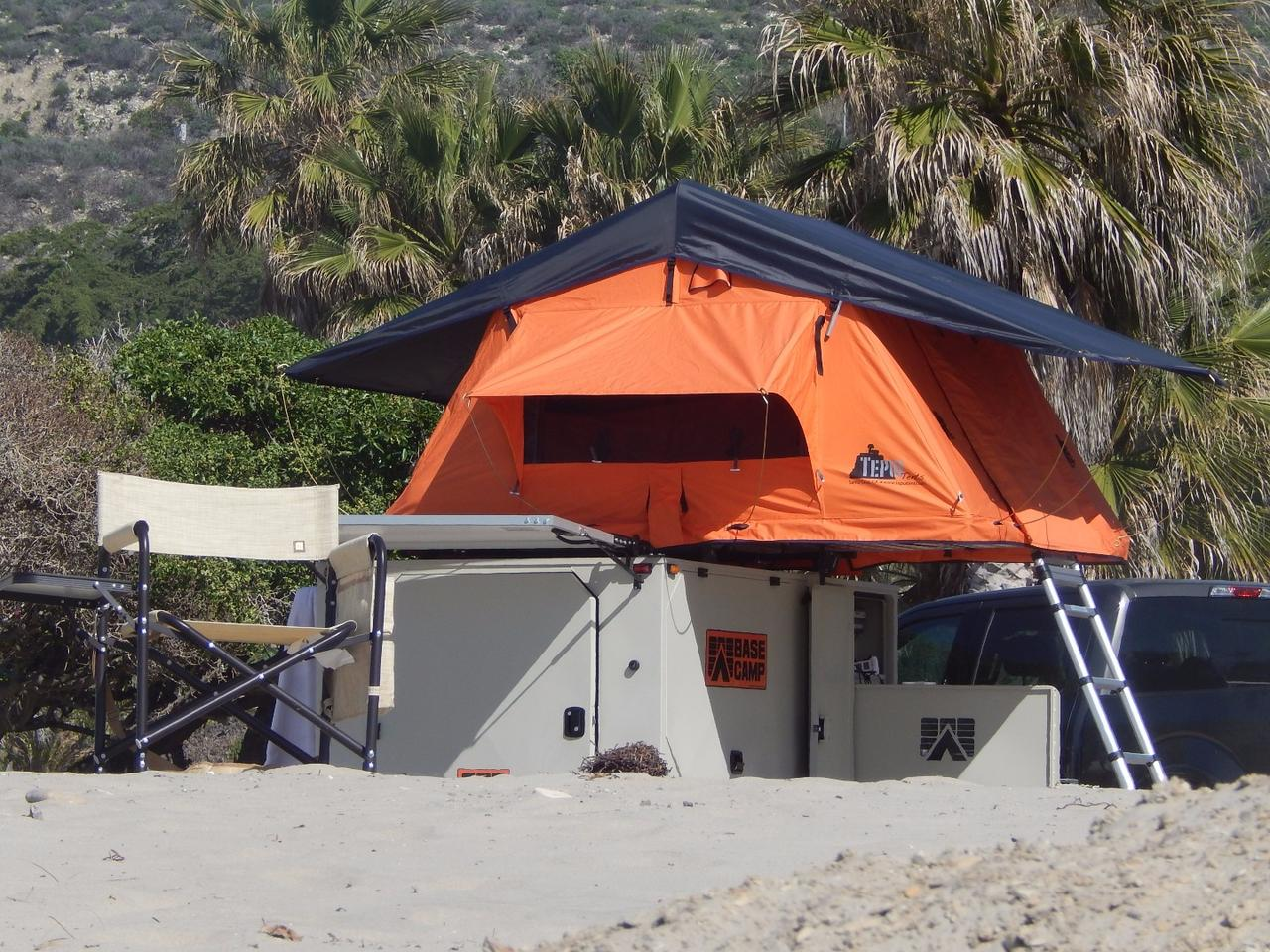 The Mobilight Base Camp is ready to explore ... or stay put and relax