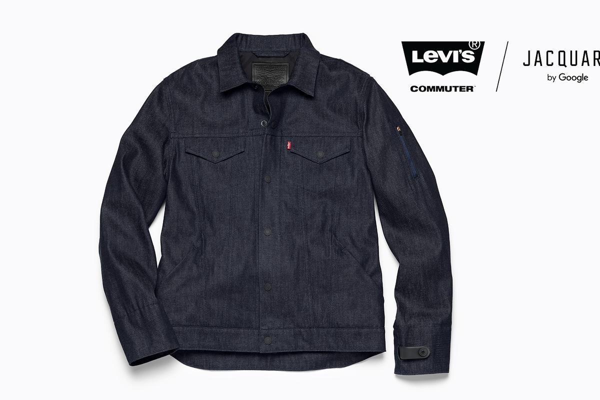 Levi's smart denim jacket has Google Jacquard technology woven right in