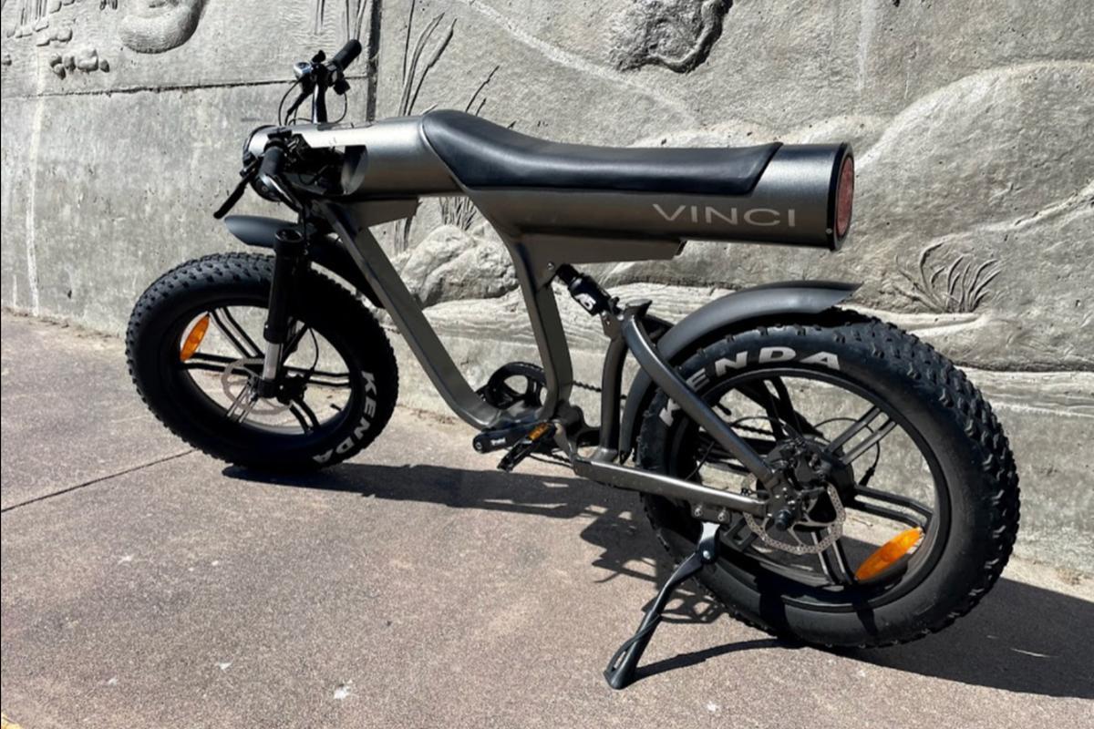 The Vinci ebike is presently on Kickstarter