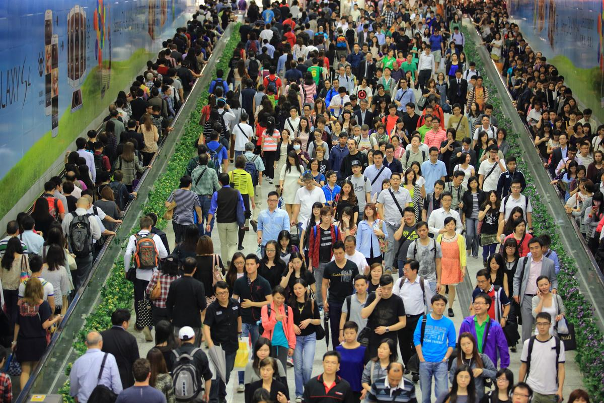 Fujitsu is hoping to thin out the flow of human traffic following major events via a smartphone app