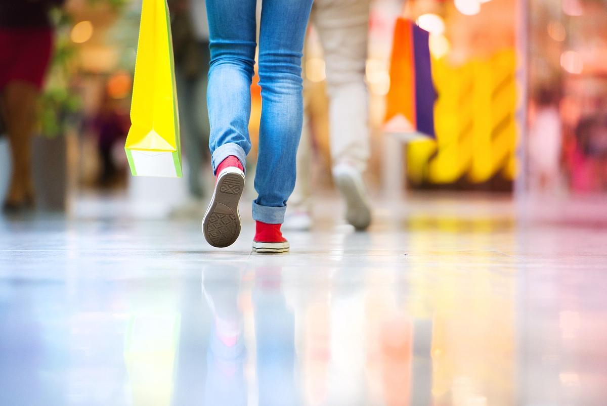 The system analyzes users' gait