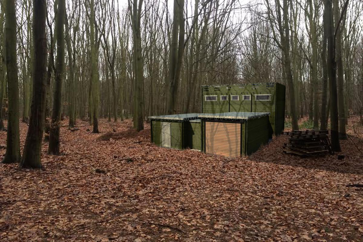 """Tiger Sheds has turned to Kickstarter to try and build its """"zombie-proof"""" cabin"""