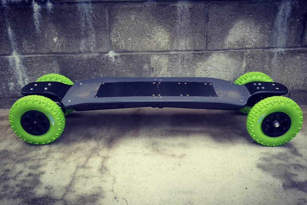 Estimated retail on the Revo 4WDis $1,999, but Carvon's Kickstarter campaign offers early bird pricing