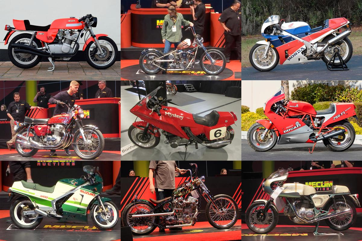Seventies motorcycles made the most news at the 2020 Las Vegas Motorcycle auctions
