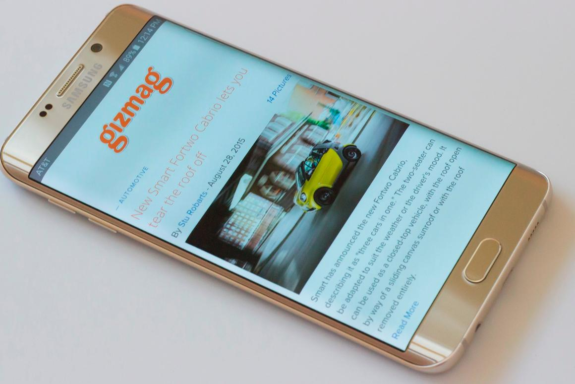 Gizmag reviews the Samsung Galaxy S6 edge+, the best-looking smartphone we've used (which also happens to be a beast on the inside)