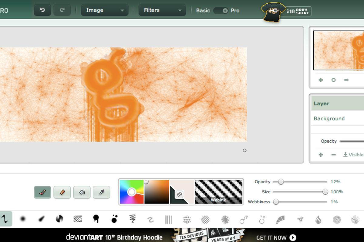 Unleash the artist within with deviantART Muro