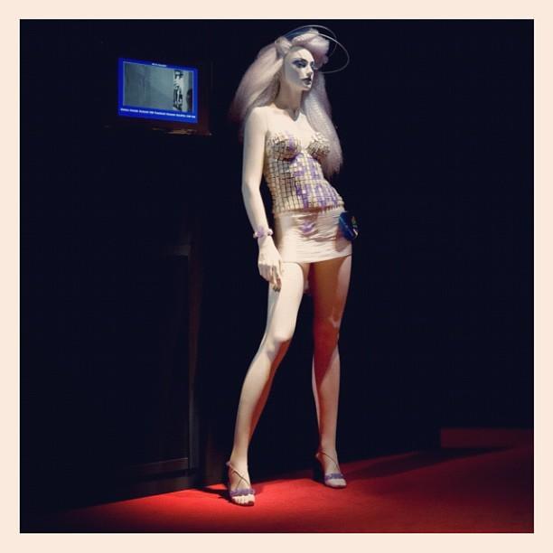 An EyeSee shopper-watching mannequin
