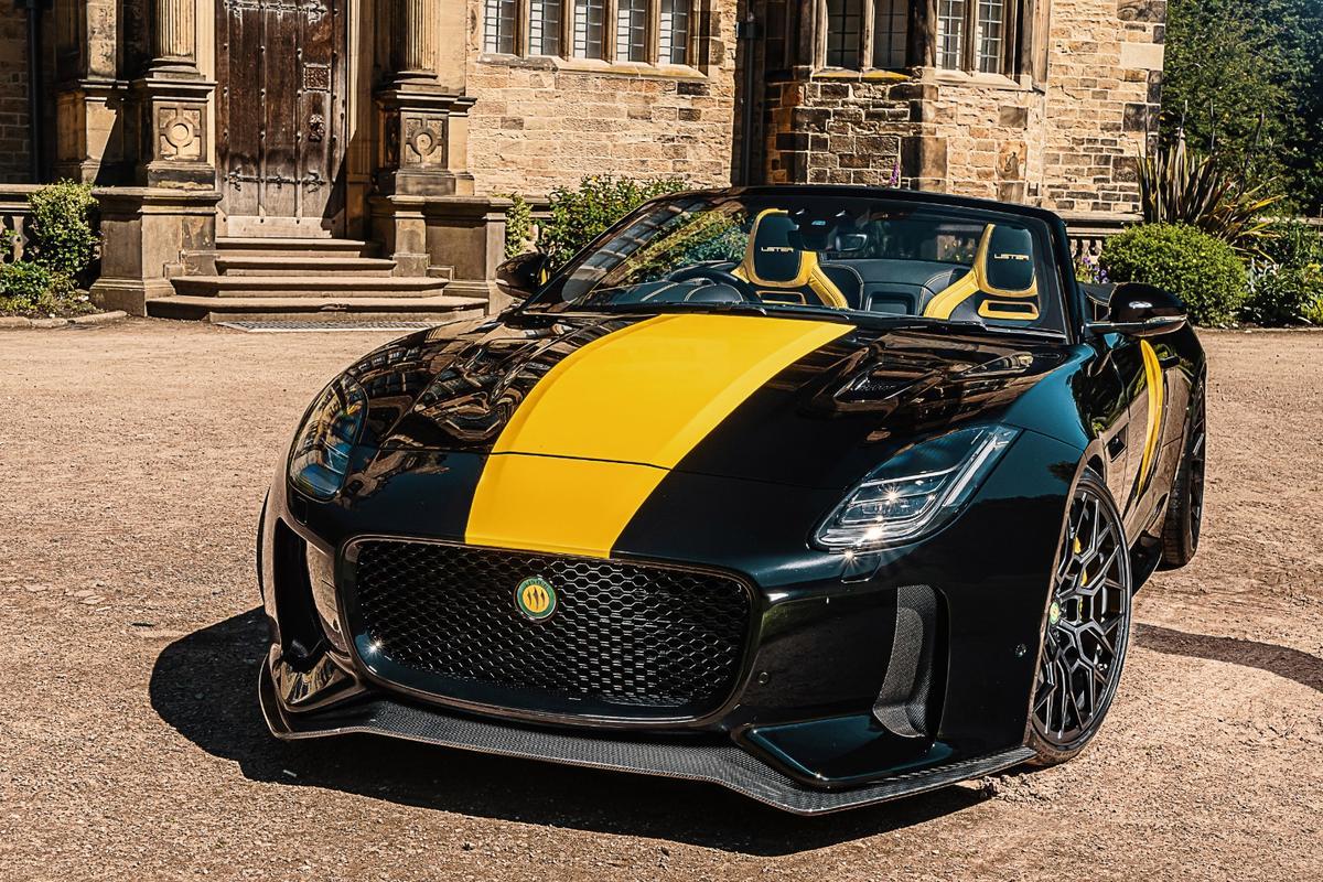 Lister has fancied-up the Jaguar F-Type R convertible into a 666-hp, 205-mph carbon-clad LFT-C