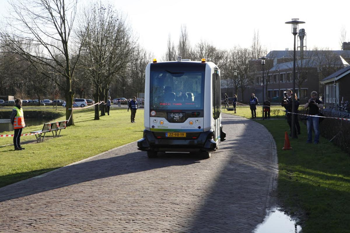 Testing the Wepod on a university campus